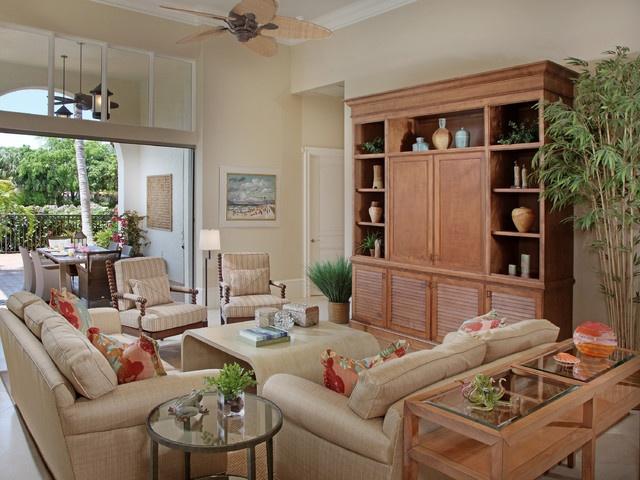 12万打造温馨舒适田园风格客厅装修效果图大全