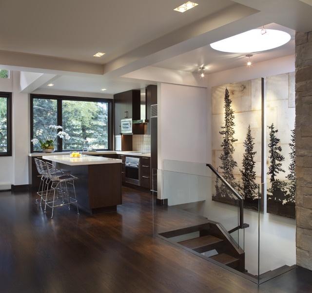 34万打造温馨舒适现代风格餐厅装修效果图大全