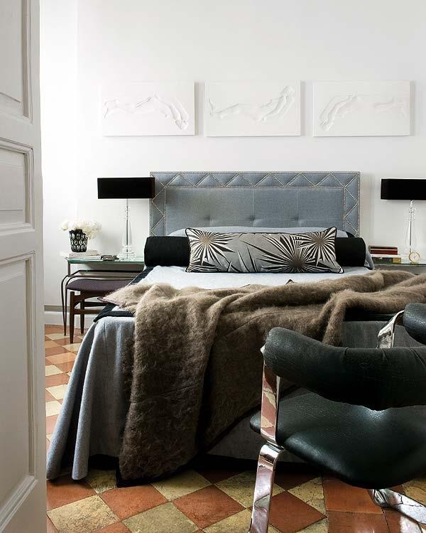 运用现代手法打造地中海风格卧室装修效果图