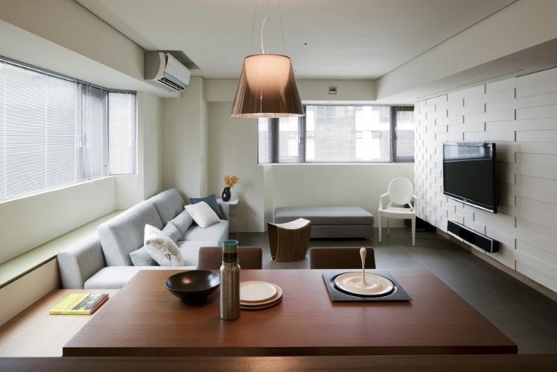 小户型现代风格客厅装修效果图大全