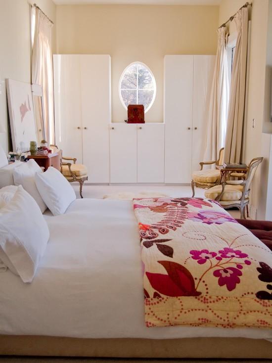 欧式简约卧室柜子效果图装修效果图