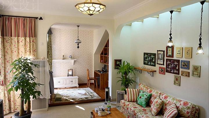 两室一厅田园风格装修