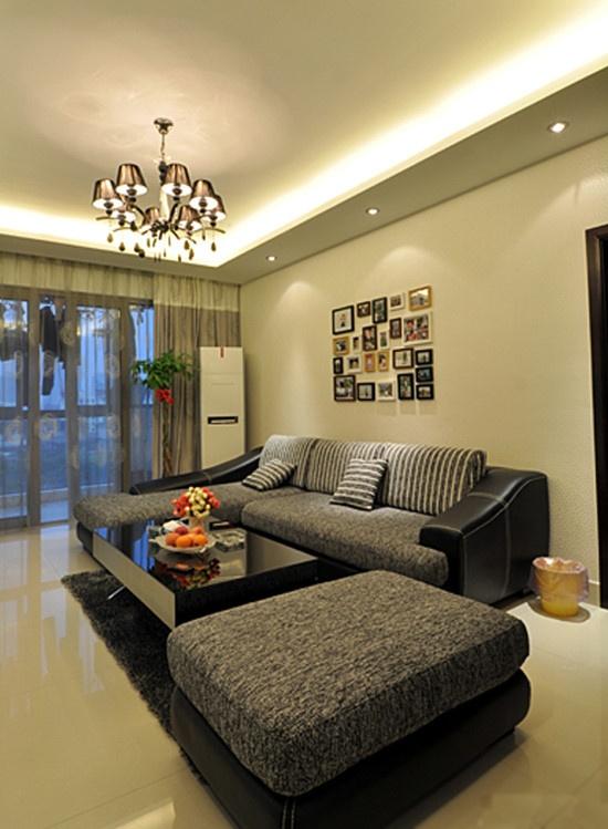 两室一厅客厅装修效果图大全