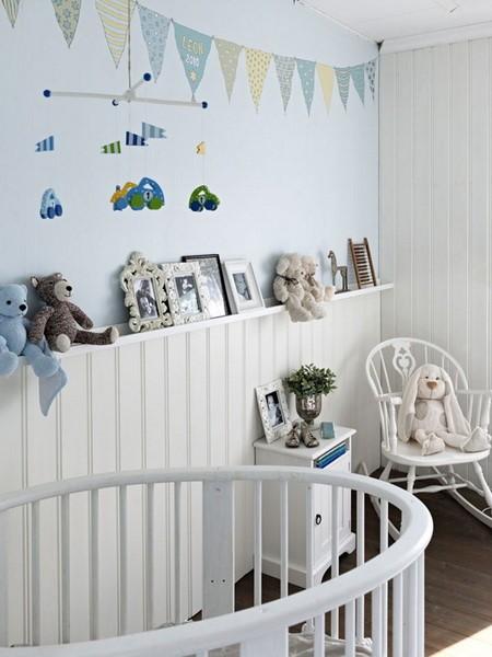 欧式儿童房壁纸装修效果图装修效果图