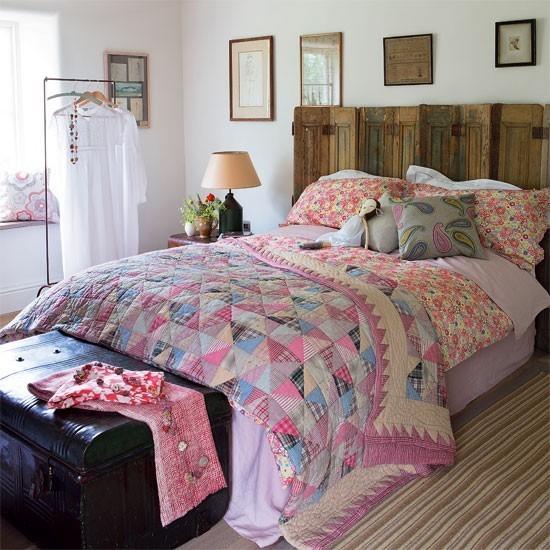 小户型复古田园卧室装修效果图大全