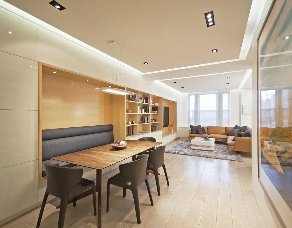 90平米小户型时尚室内餐厅装修效果图大全2012图片装修效果图 第4张高清图片
