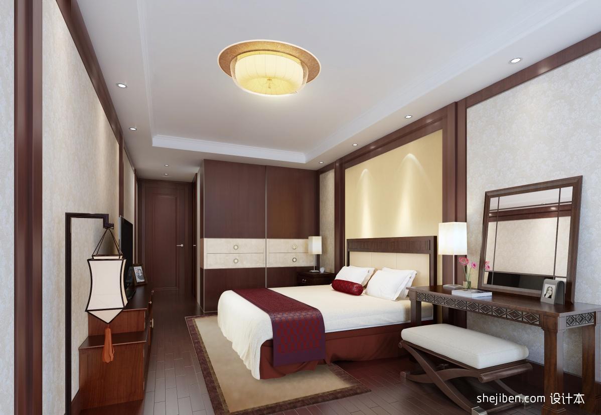 中式卧室装修设计图片 (3/4)图片
