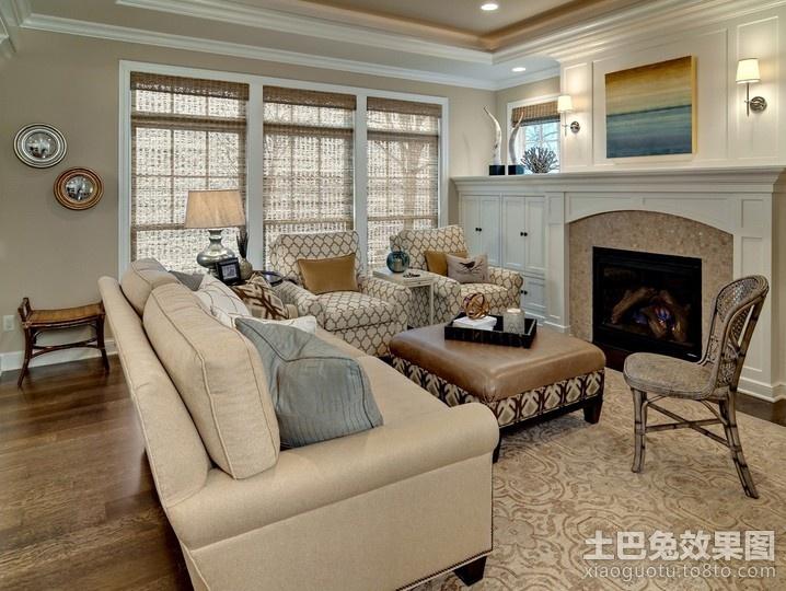现代元素的欧式客厅装修效果图大全2012图片装修效果