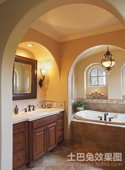 小户型缔造经典美式卫生间装修效果图大全2012图片 3 4高清图片