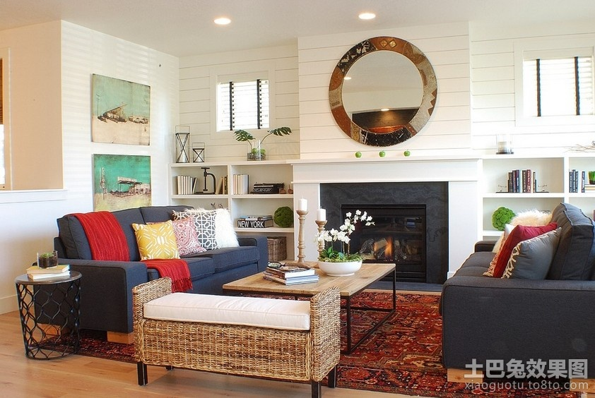 欧式现代风格客厅装修效果图大全2012图片装修效果图