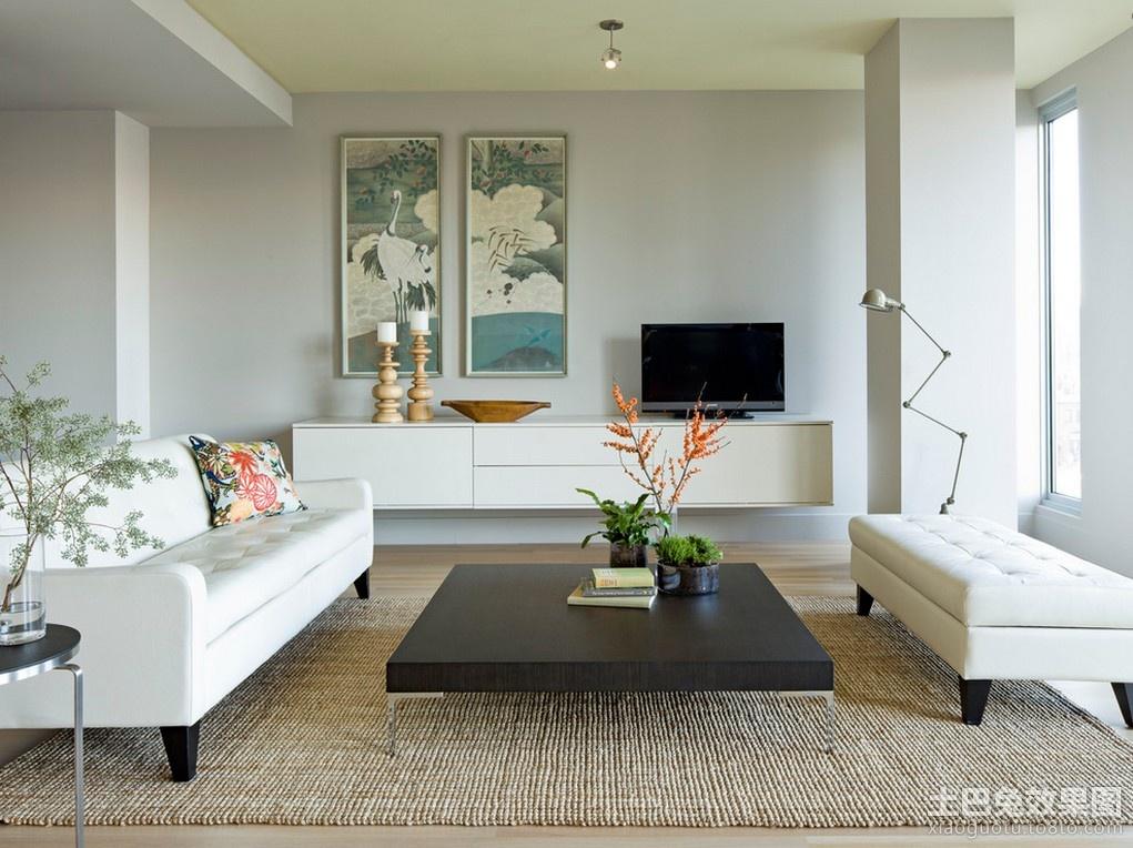 90平米小户型装修效果图 90平小户型房屋装修装修效果图 高清图片