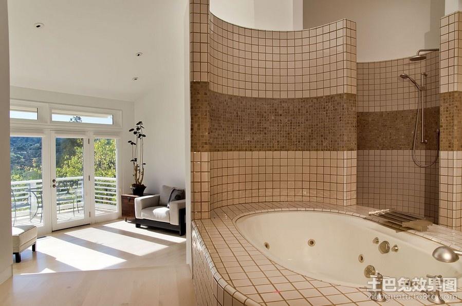 卫生间装修效果图大全2012图片 卫生间瓷砖效果图 (1/5)