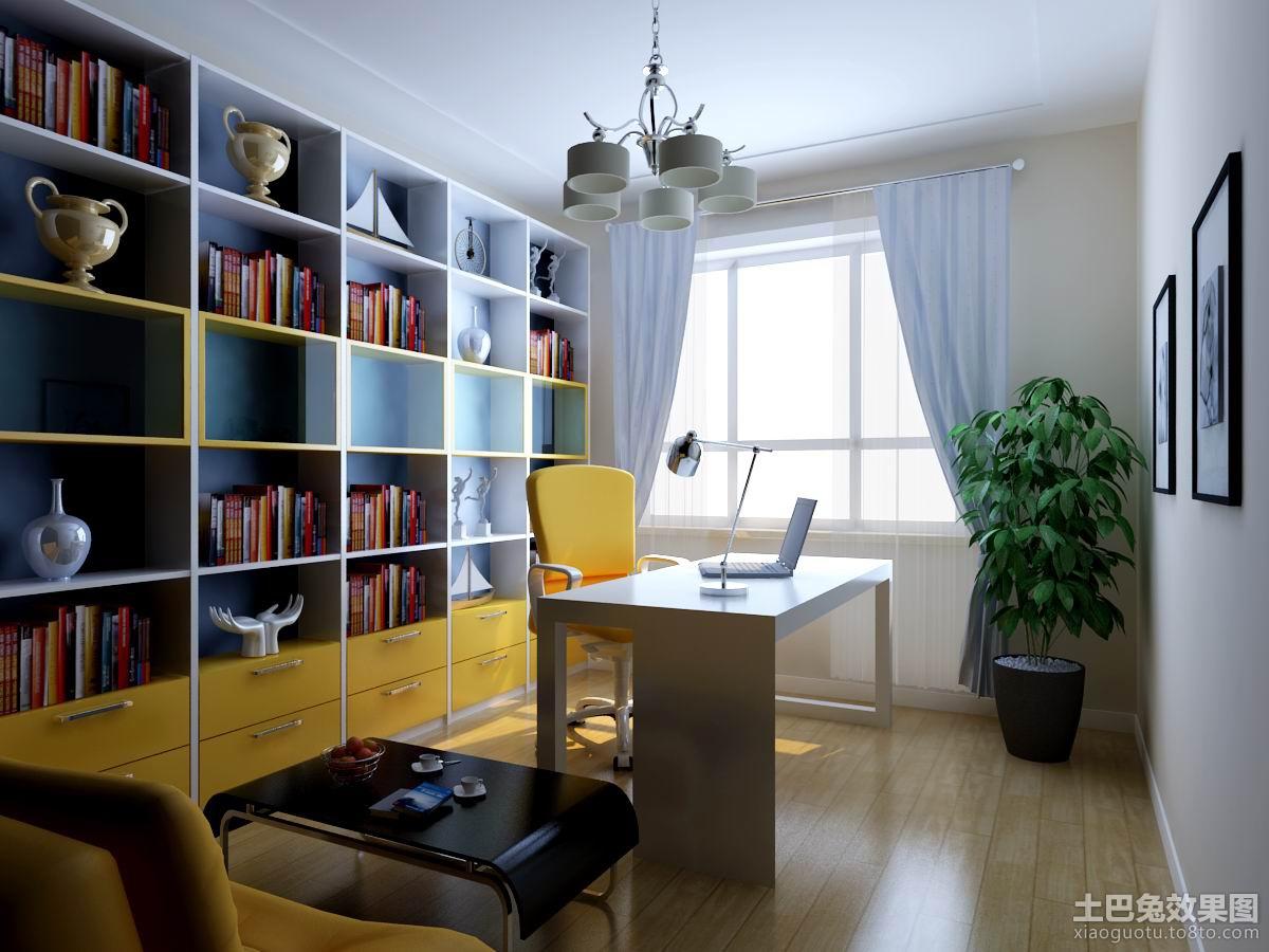 现代家庭书房装修效果图装修效果图