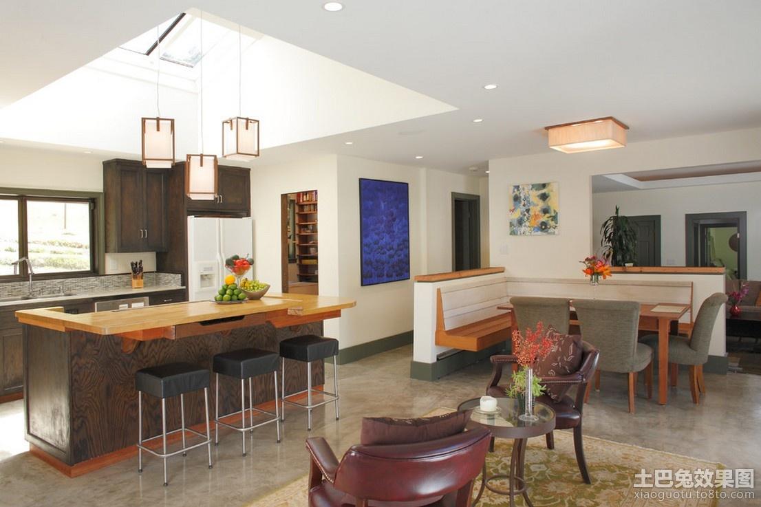 开放式厨房吊顶装修效果图装修效果图_第1张 - 家居图片