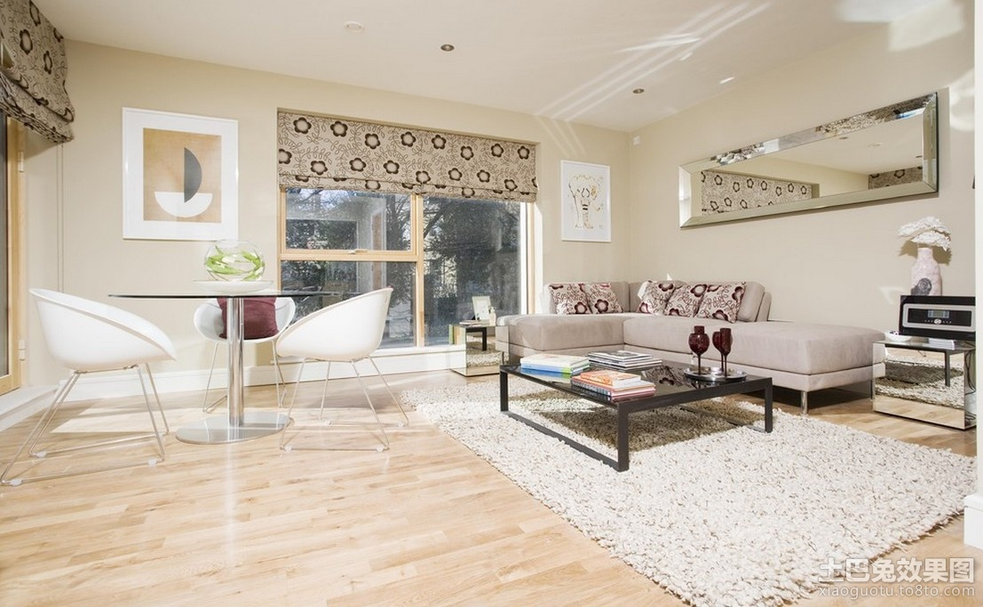 90平米房子客厅装修设计图高清图片