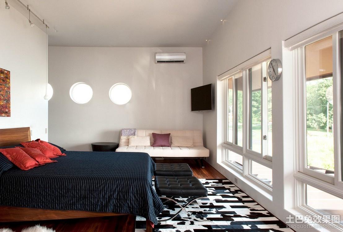 简约卧室室内设计效果图装修效果图 第2张 家居图库 九正家居网