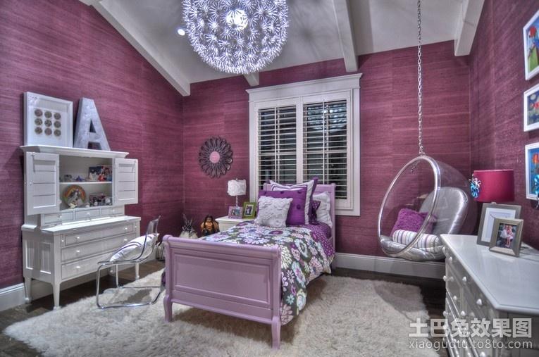 欧式风格儿童房间装饰效果图装修效果图 第4张 家居图库 九正家居网高清图片