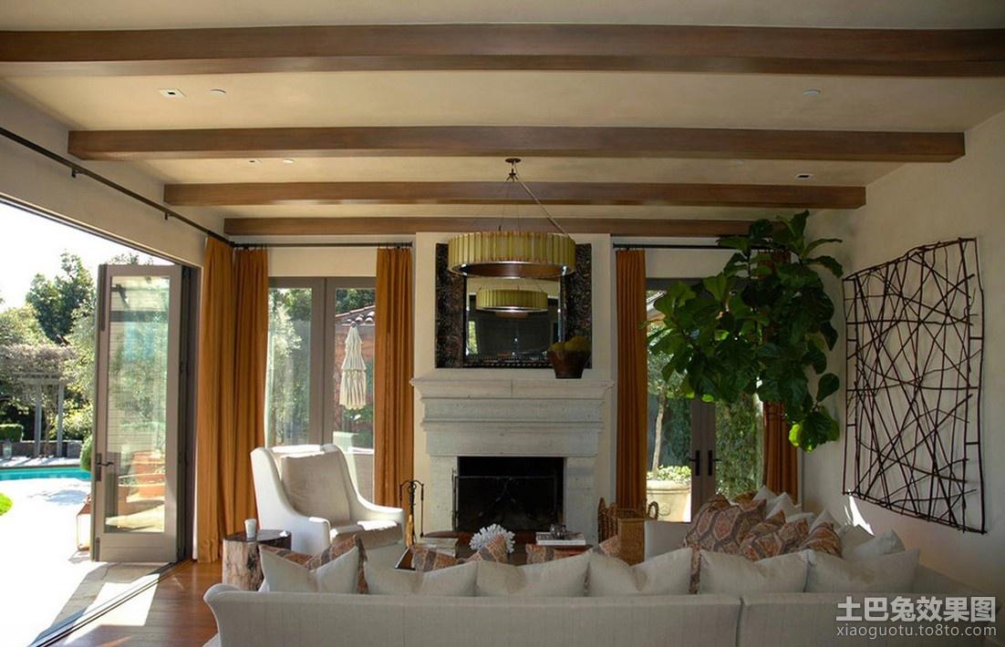 美式乡村风格家装客厅图片图片