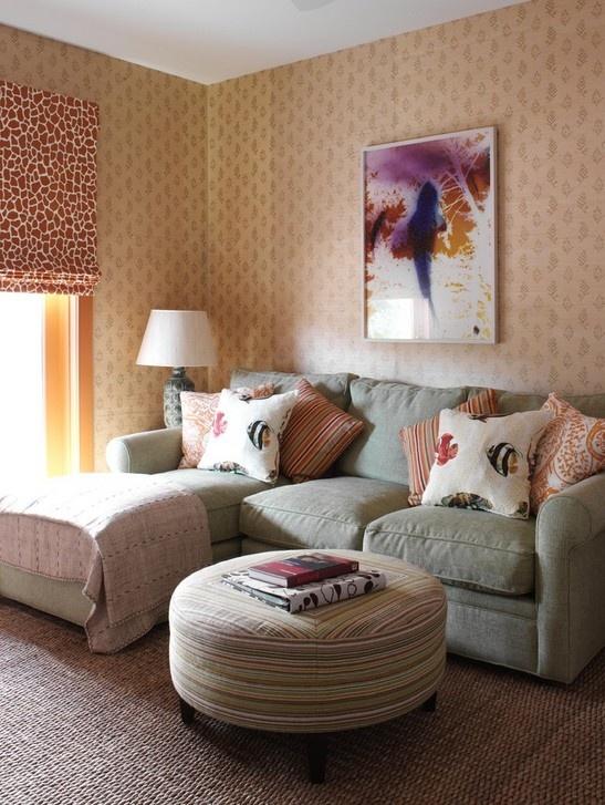 二室一厅装修风格 小客厅装修效果图