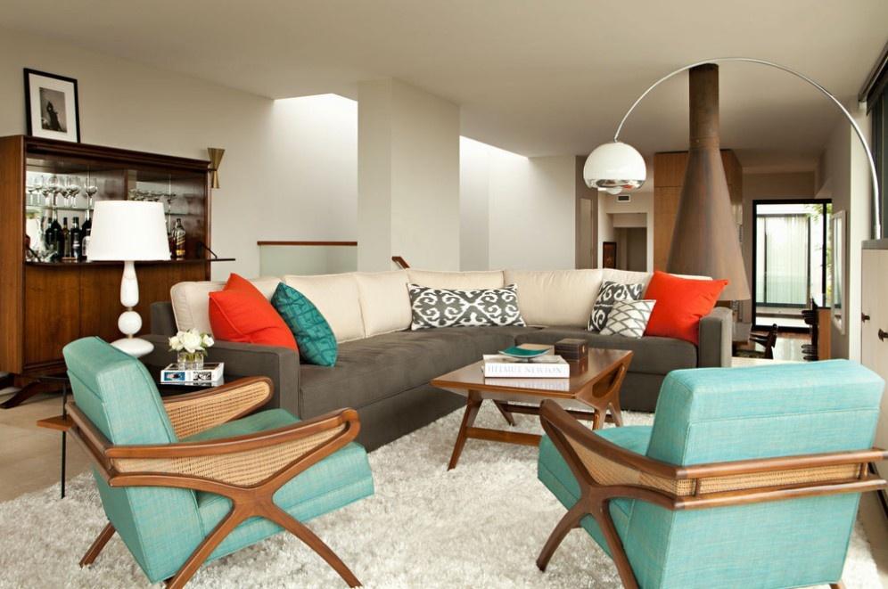 70平米现代风格客厅装修效果图