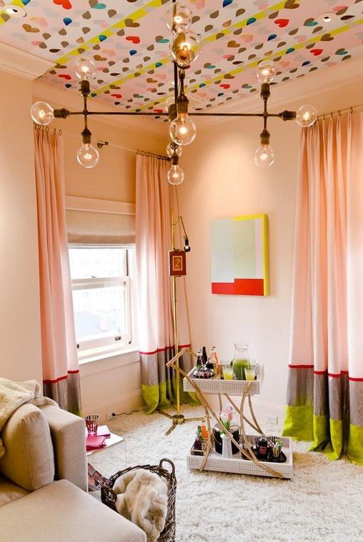 儿童房天花板装饰效果图装修效果图