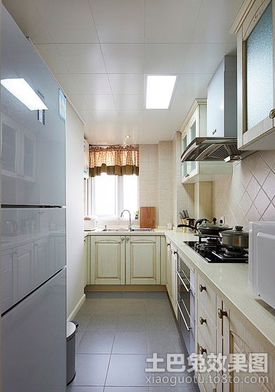 厨房装修图片 6平米小厨房装修效果图 (5/6)