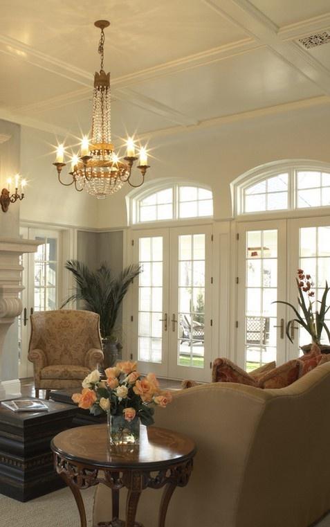 简约欧式客厅吊顶效果图大全装修效果图