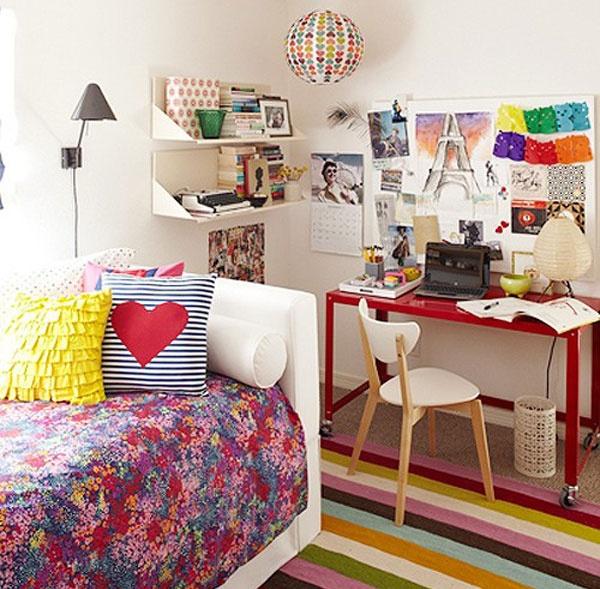 混搭卧室装修效果图大全 卧室角收纳设计装修图片