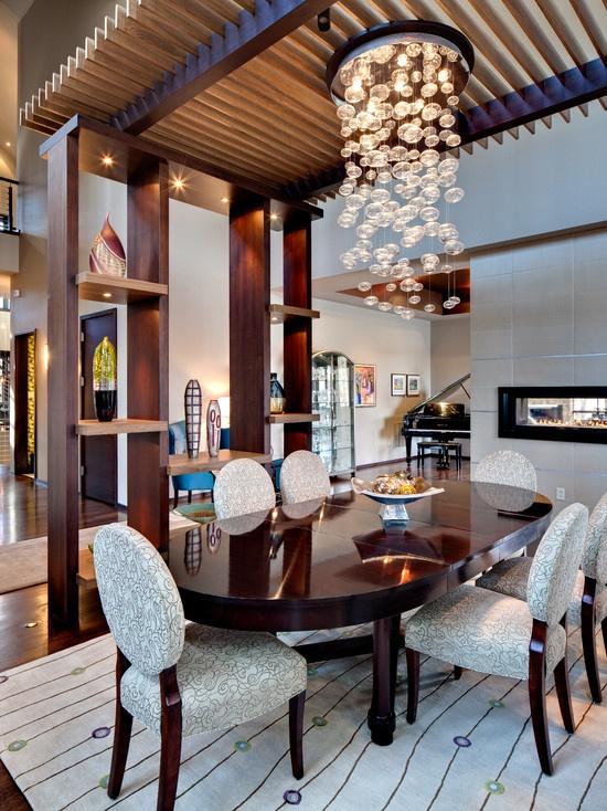 餐厅隔断效果图 餐厅吊顶效果图