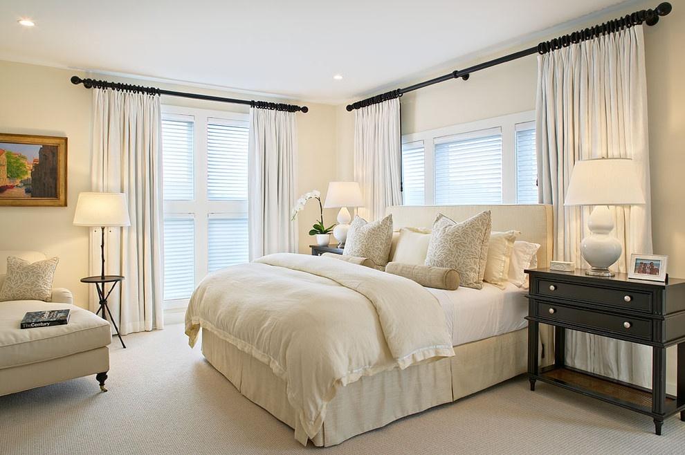 简约卧室装修效果图大全 简约风格卧室百叶窗窗帘图片