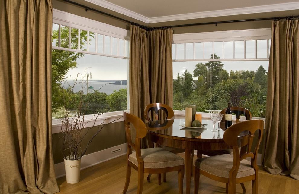 餐厅窗帘效果图  窗帘布艺图片