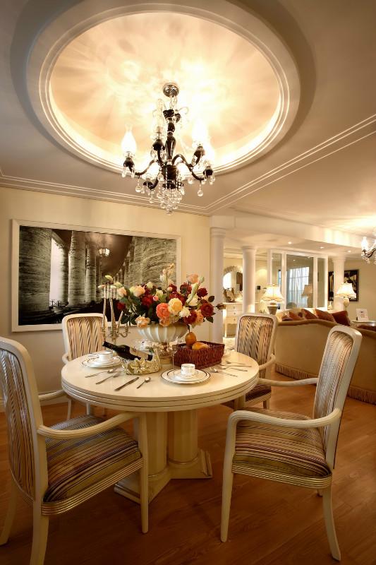 欧式家居餐厅吊顶装修效果图大全装修效果图