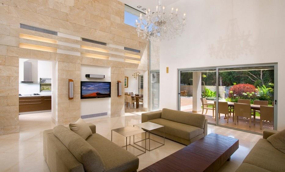 跃层客厅装修效果图 客厅电视背景墙装修效果图