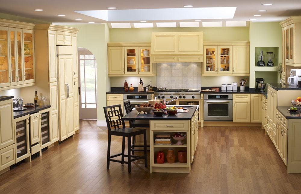 欧式厨房实木橱柜装修效果图装修效果图_第8张 - 家居图片