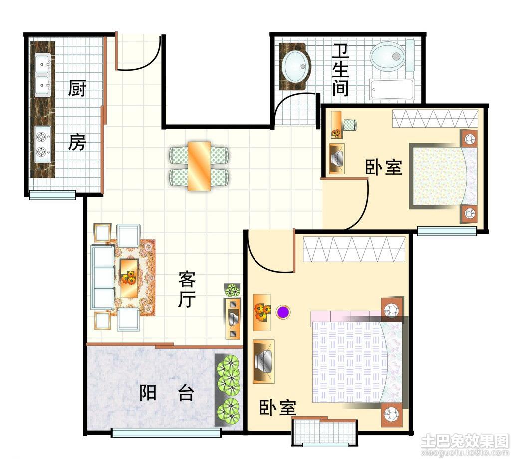 乡下房子设计平面图装修效果图 第7张 家居图库 九正家居网