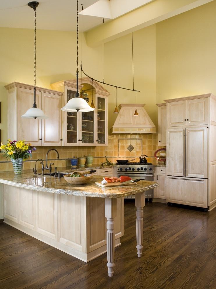欧式半开放式厨房吧台装修效果图装修效果图 第5张 家居图库 九正家居网图片