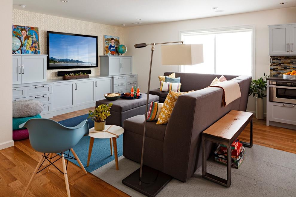 现代风格小客厅装修效果图