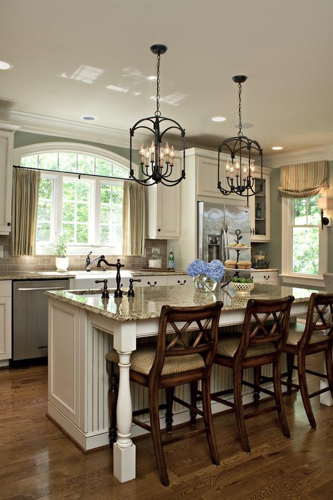 欧式厨房吧台吊灯装修效果图装修效果图