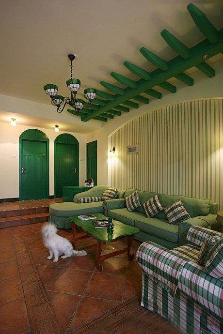 2012小客厅装修效果图 10款冬季最新客厅装修效果图