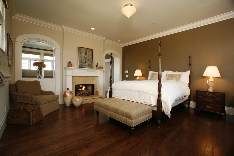 美式卧室红木地板装修效果图大全装修效果图