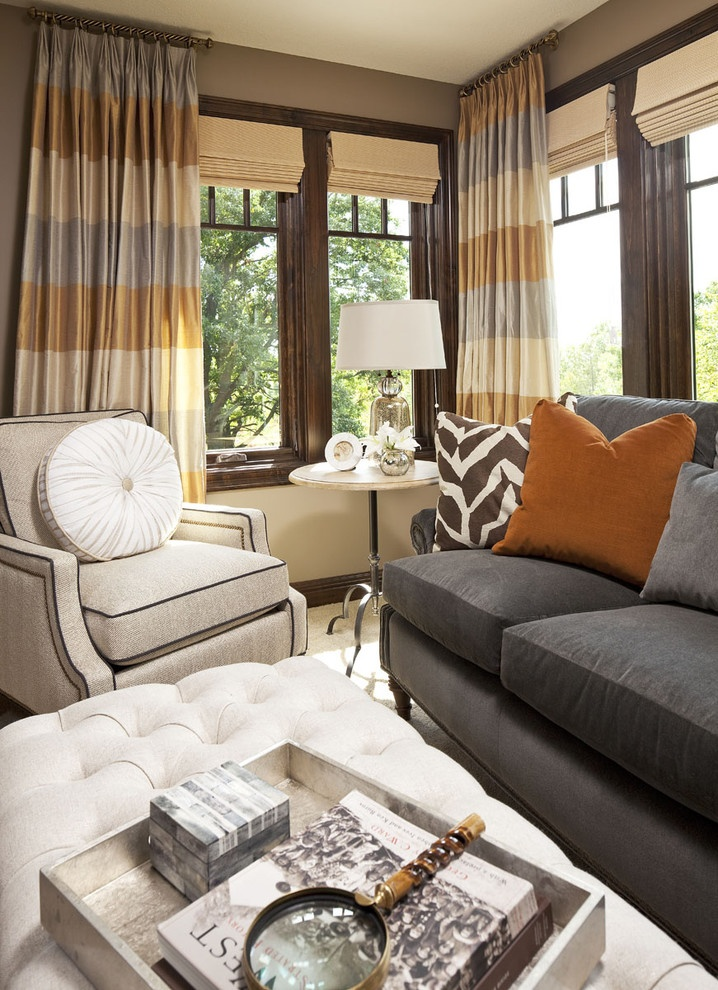 客厅窗帘沙发搭配效果图大全装修效果图