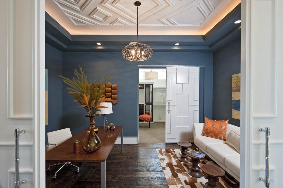 简欧客厅石膏板吊顶装修效果图装修效果图 第4张 家居图库 九正家居网