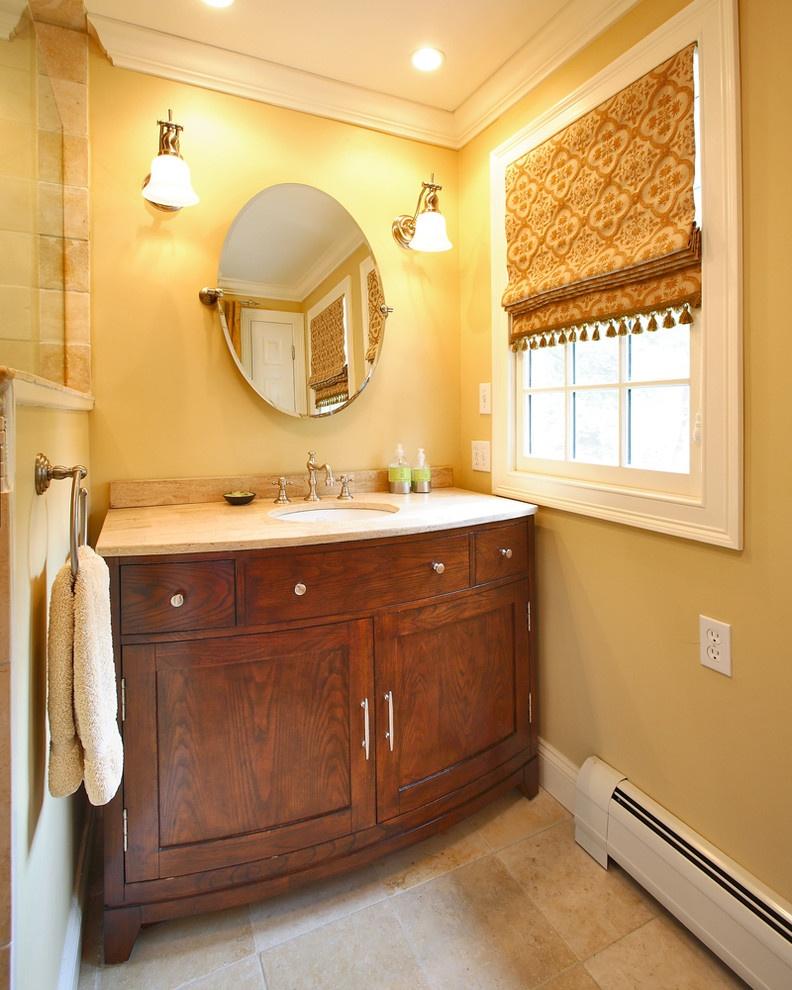 暖色调卫生间装修效果图装修效果图