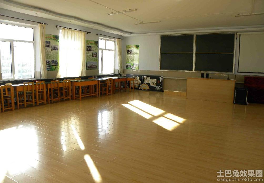 舞蹈教室环境布置装修效果图图片