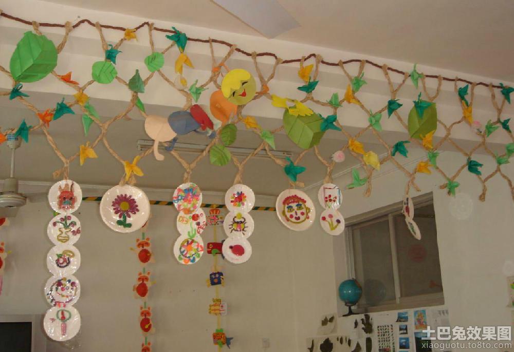 幼儿教室环境布置 (4/7)图片