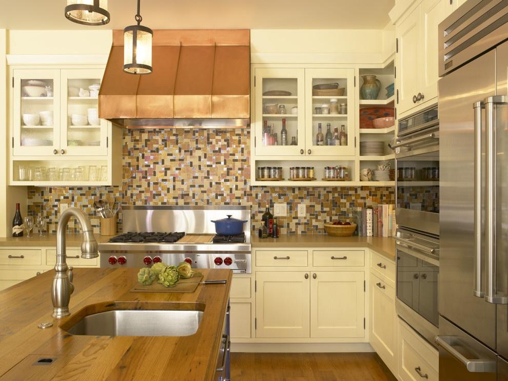欧式厨房吊柜图片欣赏装修效果图