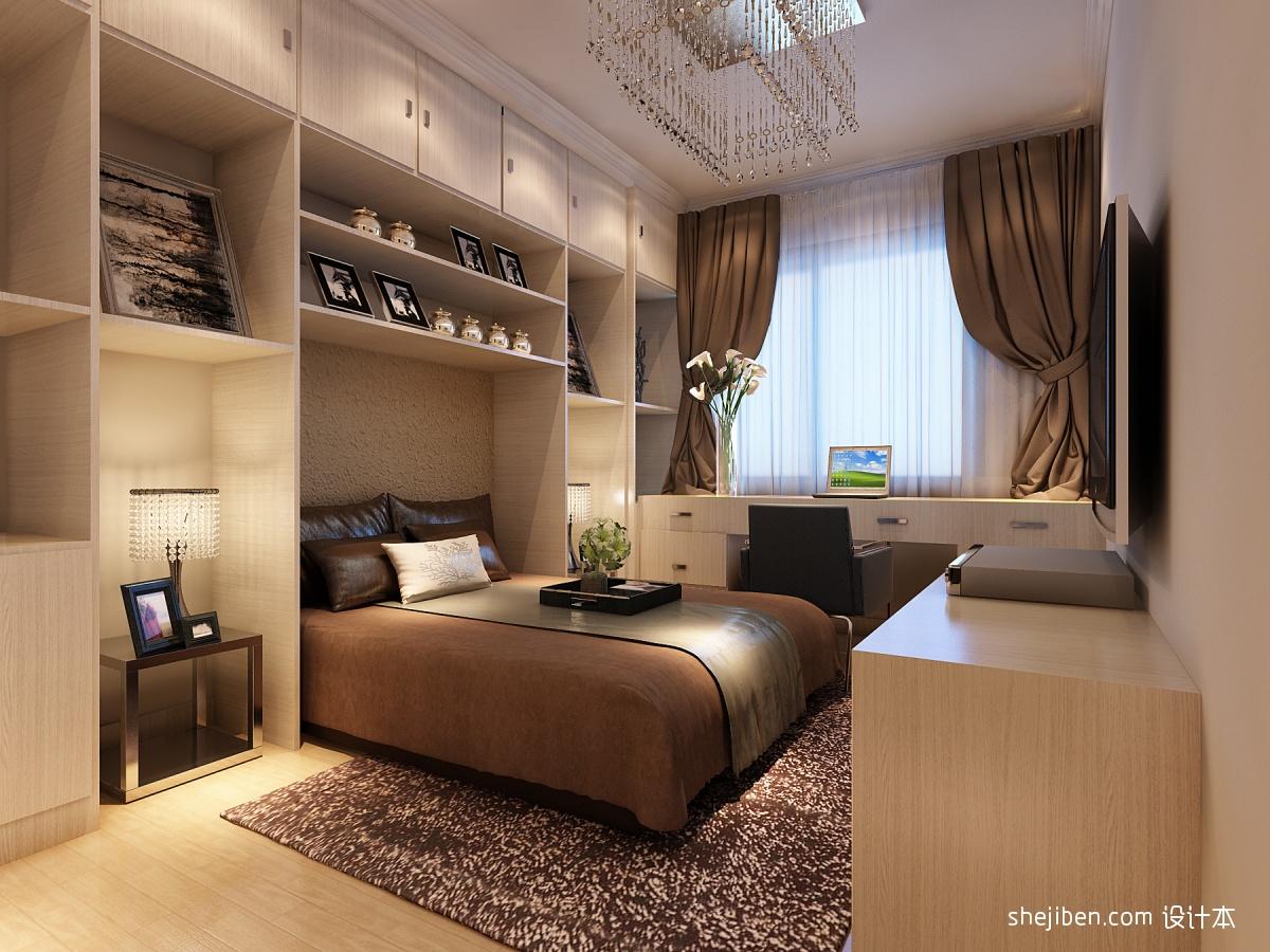 卧室收纳柜装修效果图装修效果图