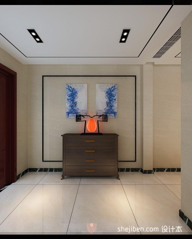 家居图库 新中式客厅不吊顶效果图 > 第3张