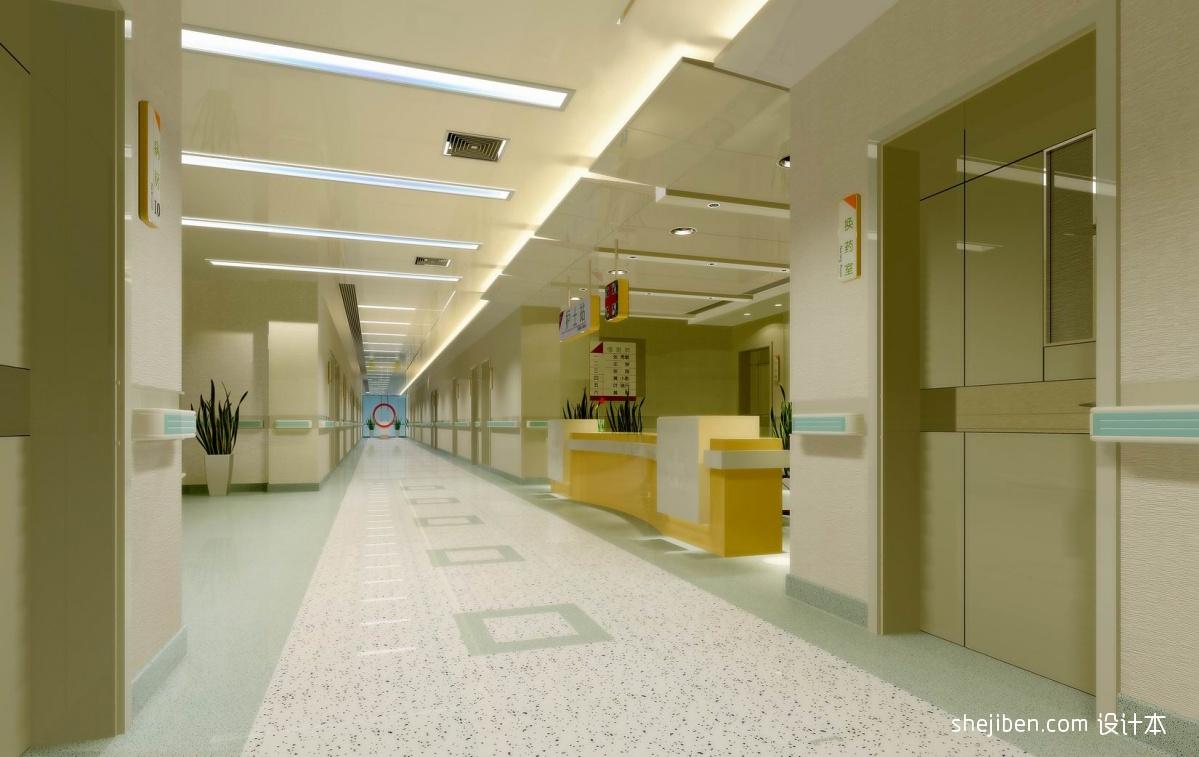 医院住院病房走廊装修效果图 5 7高清图片