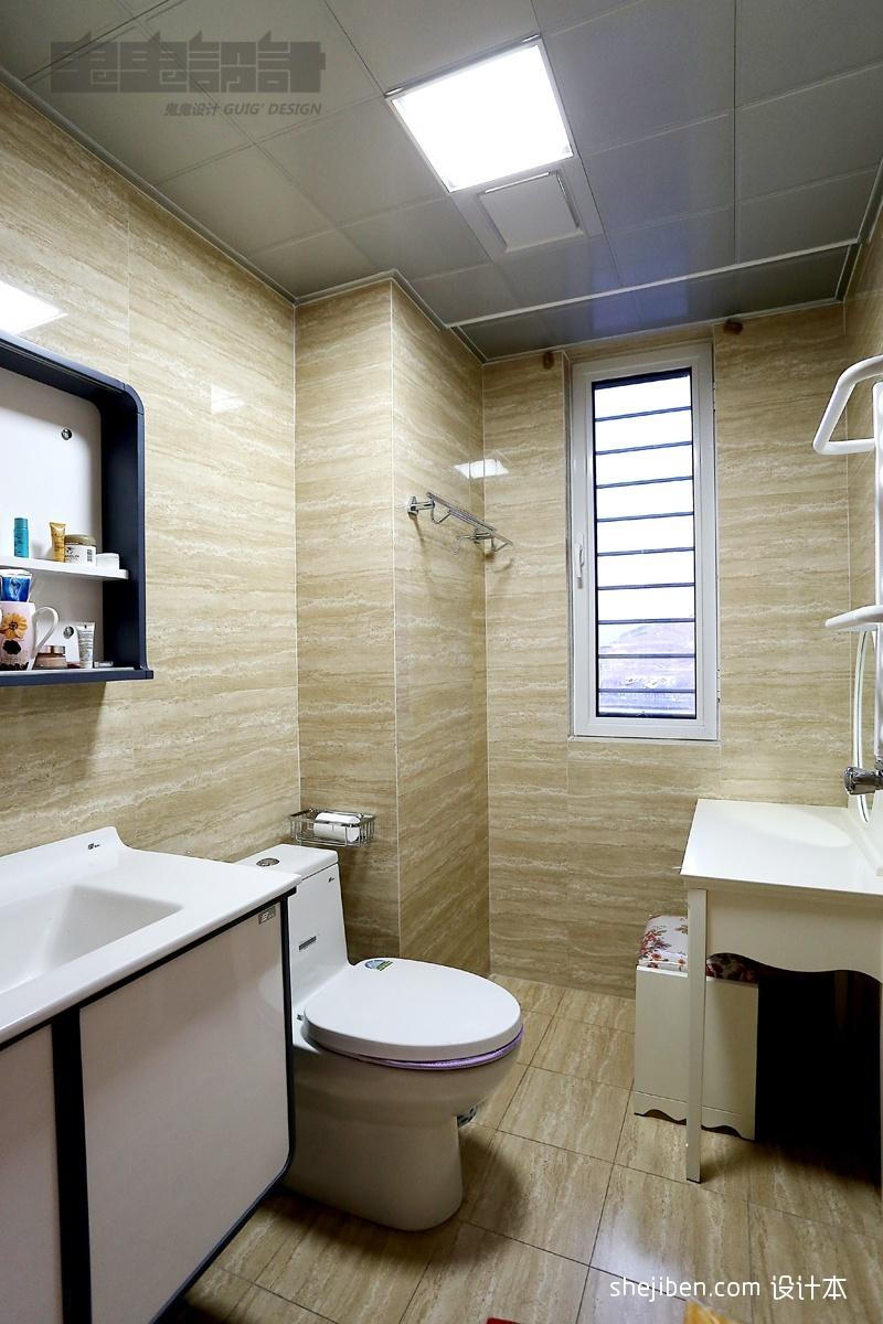 家居图库 欧式别墅卫生间装修设计效果图 > 第2张